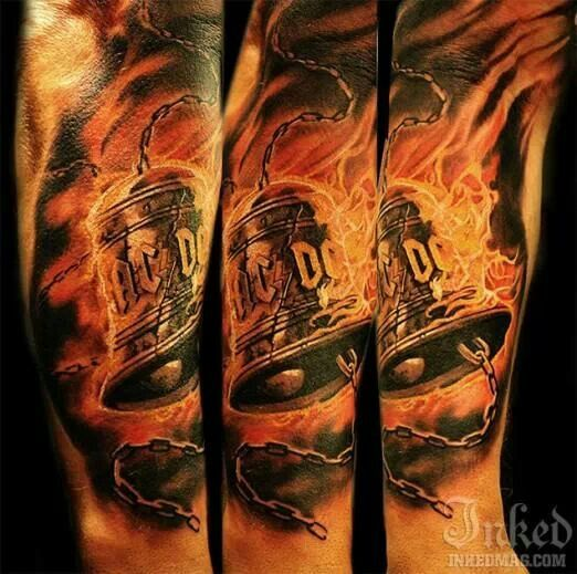 Tatuagens da banda ACDC 11