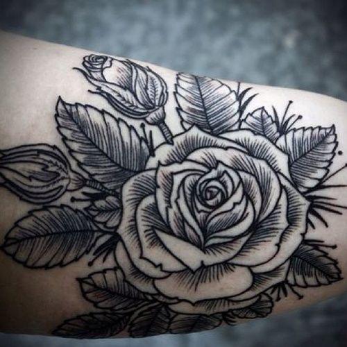 Tatuagens de flores 09