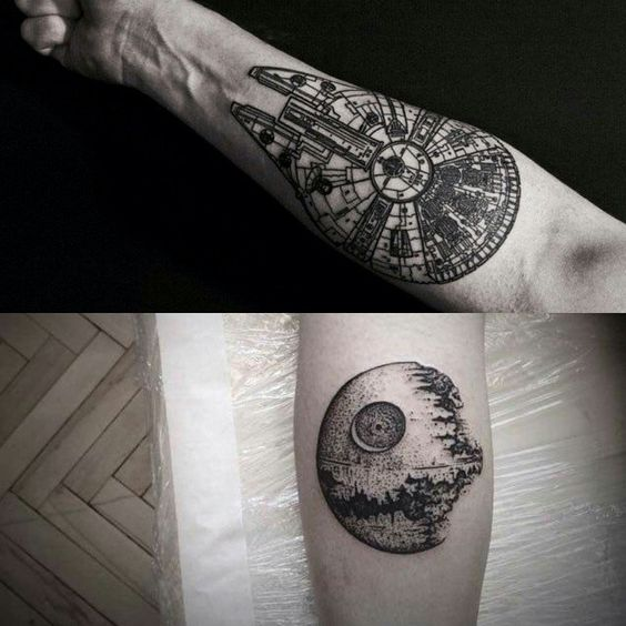 Tatuagens de Star Wars O Despertar da Forca 14