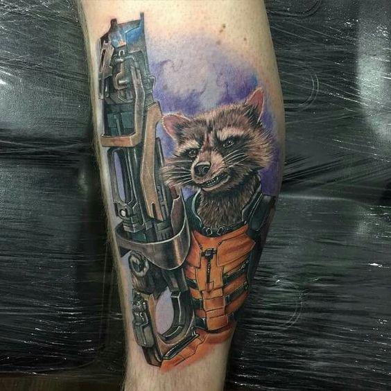 Tatuagens de Guardiões da Galáxia